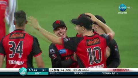 Brisbane Heat v Melbourne Renegades, BBL|07