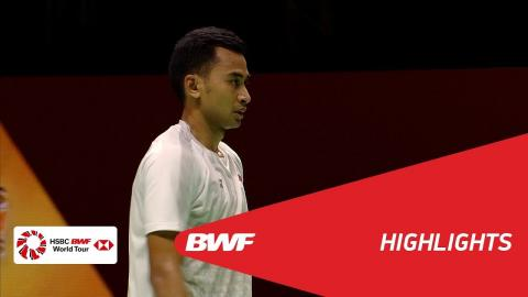 Princess Sirivannavari Thailand Masters 2018 | Badminton MS - SF 2 - Highlights | BWF 2018