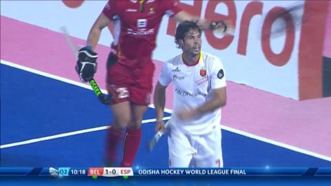 Belgium v Spain Highlights - Odisha Men's Hockey World League Final - Bhubaneswar, India