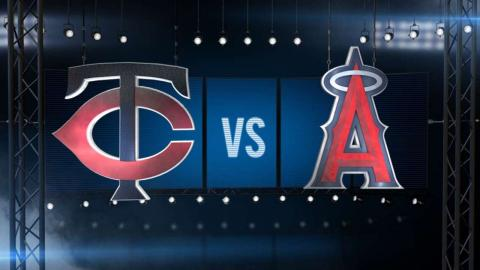 7/21/15: Angels win sixth straight with rout of Twins