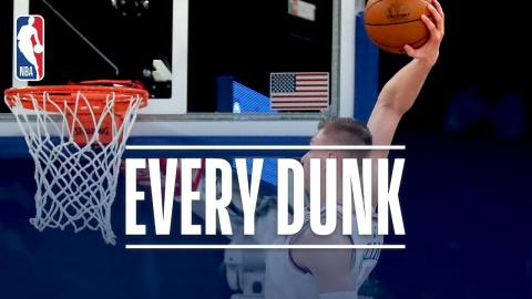 Kristaps Porzingis, Kenneth Faried, and Every Dunk From Saturday Night | November 11, 2017