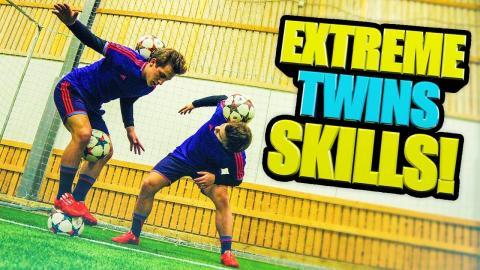 AMAZING Football & Freestyle Skills ★ by SkillTwins (Ronaldo/Neymar/Messi Skills)