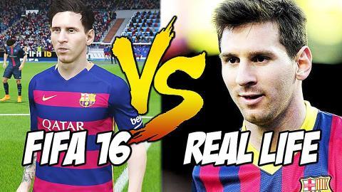 FIFA 16 vs Real Life - Skills