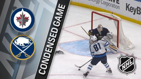 01/09/18 Condensed Game: Jets @ Sabres
