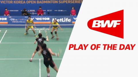 Play Of The Day | Badminton SF - Victor Korea Open 2016