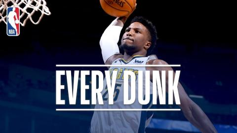 Karl-Anthony Towns, Terrance Ferguson, and Every Dunk From Wednesday Night | January 3, 2018