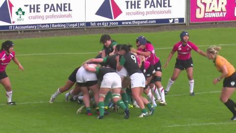 Irish Rugby TV: Ireland Women's XV v Japan Highlights