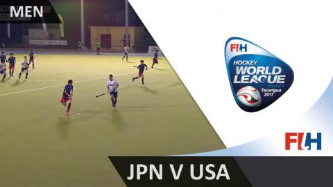 Japan v USA - 2017 Men Hockey World League Round 2, Tacarigua