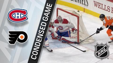 02/08/18 Condensed Game: Canadiens @ Flyers
