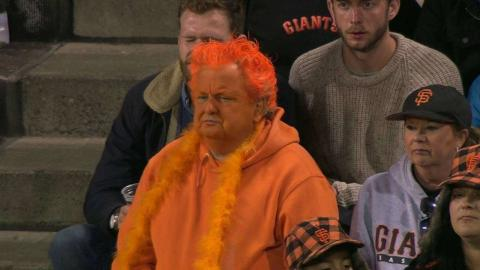 MIA@SF: Giants celebrate Orange Friday at AT&T Park