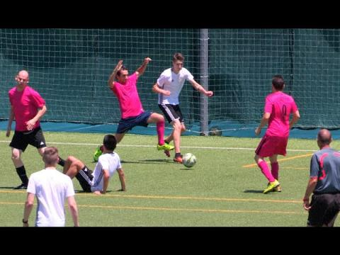 PLAYING in a REAL MATCH!! - MADRID 2016