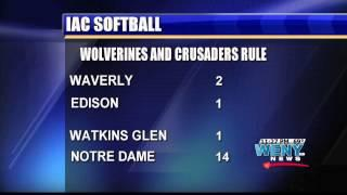 Waverly Baseball Stifles Edison And TT Softball & Baseball Scores