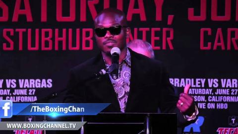 Timothy Bradley and Jessie Vargas officially announced their June 27 welterweight match