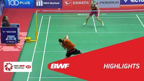 Perodua Malaysia Masters 2018 | Badminton WS - SF - Highlights | BWF 2018