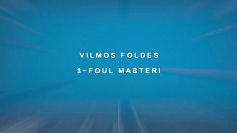 Vilmos Foldes - 3 Foul Master! 2017 Cole Dickson 9 Ball