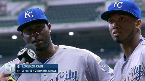 KC@MIL: Cain and Escobar discuss the win, Milwaukee
