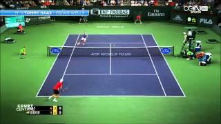 Top 10 Tennis Points 2014 HD ( Part 1 )