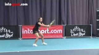 Tennis Forehand- Basic Technique