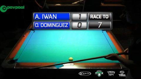 #8 • Oscar DOMINGUEZ vs Andy IWAN • 2016 Cole Dickson 10 Ball