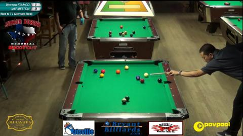 #6 • Warren KIAMCO vs Jeff MELTON • 2017 Junior Norris 10-Ball