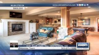 6151 South Joplin Way  CENTENNIAL, CO Homes For Sale | Coloradohomes.com