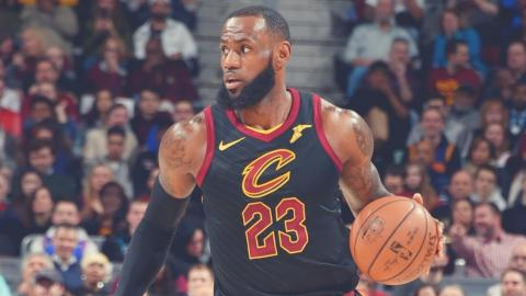 LeBron James BEST PLAY from EVERY GAME (2017-2018)
