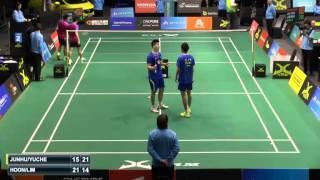 QF - 2015 Skycity New Zealand Open - Li Junhui/Liu Yuchen Vs Lim Khim Wah/Goh V Shem