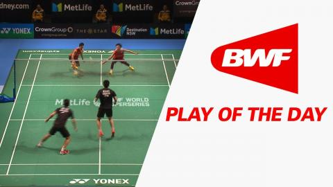 Play Of The Day | Badminton F - CROWN GROUP Australian Open 2017