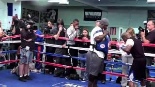 Jamie Foxx Floyd Mayweather Is Single Handedly Keeping Boxing Alive - Esnews