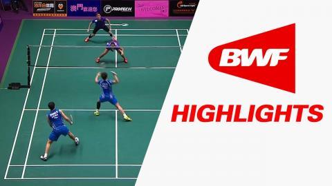 Macau Open 2016   Badminton F – Highlights