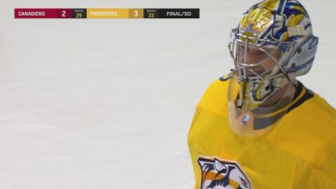 Turris, Rinne lead Preds past Canadiens in shootout