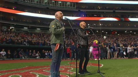 WS2016 Gm2: LoCash performs national anthem