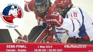Semi-final   2015 IPC Ice Sledge Hockey World Championships A-Pool, Buffalo