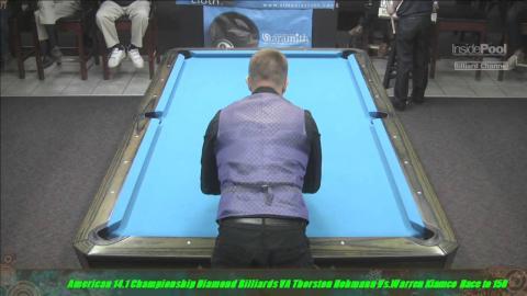 2015 American 14 1 Championship Warren Kiamco Vs Thorsten Hohmann