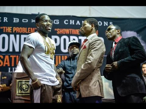 Adrien Broner vs Shawn Porter Final Las Vegas Presser PBC NBC REVIEW !!