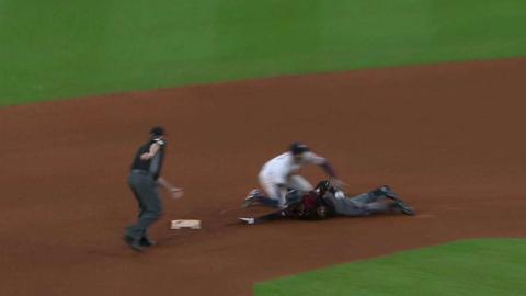 ARI@HOU: Weeks Jr. gets thrown out by Springer