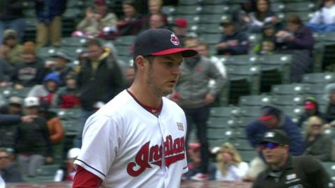 MIN@CLE: Bauer gets Sano to ground into 5-4-3 DP