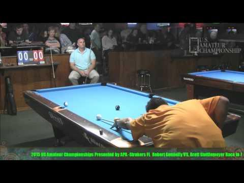 2015 US Amateur Championship Brett Stottlemeyer VS  Robert Gonnelly
