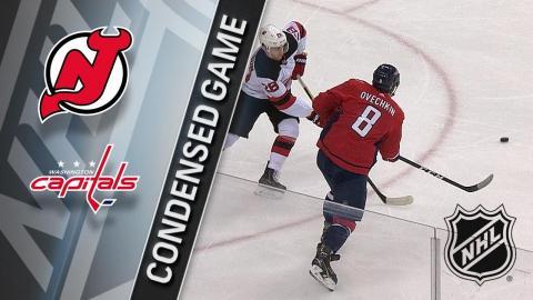 12/30/17 Condensed Game: Devils @ Capitals