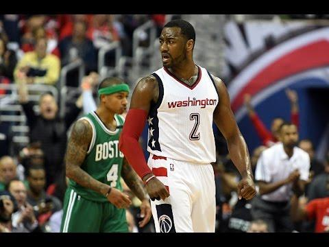 John Wall Scores 24 Points and Dishes 8 Assists in Game 3 in Washington | May 4, 2017
