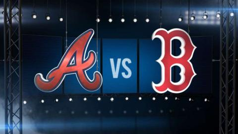 6/16/15: Holt completes cycle as Red Sox top Braves