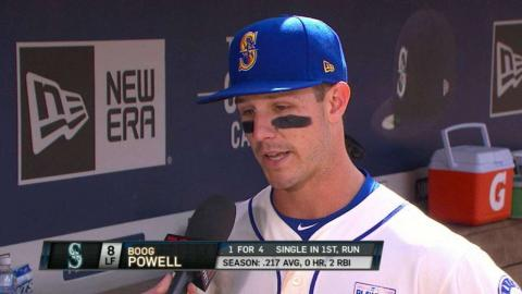 TB@SEA: Powell discusses Miranda's complete game