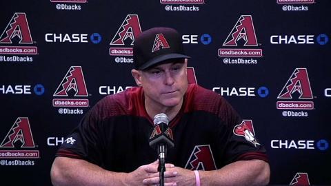 CIN@ARI: Hale on blowout loss, offensive struggles