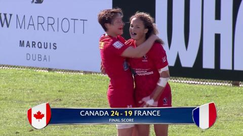 HIGHLIGHTS: Australia women's win Dubai Sevens