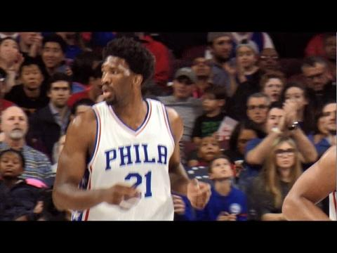 Joel Embiid Sets New Career High 33 Points | 12.18.16