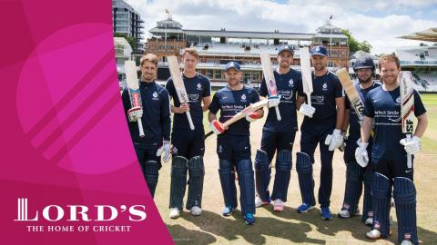 Morgan, McCullum, Southee & Simpson take on the Lord's Pavilion Six Hit Challenge 2017!