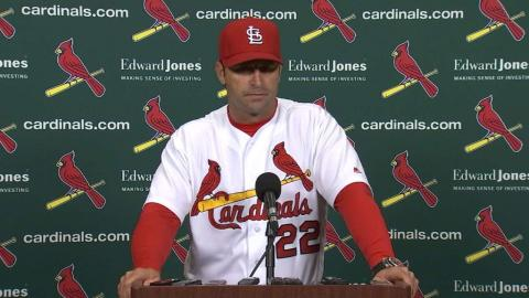 PHI@STL: Matheny discusses the 5-4 walk-off win