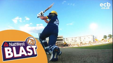 Mason Crane spins Hampshire To Win Over Glamorgan - NatWest T20 Blast 2017