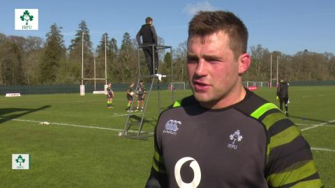 Irish Rugby TV: CJ Stander On The Build Up To Ireland v Wales