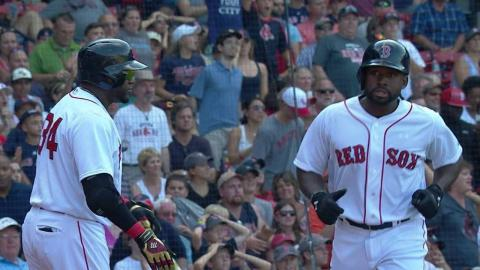 SEA@BOS: Bogaerts grounds out but notches third RBI